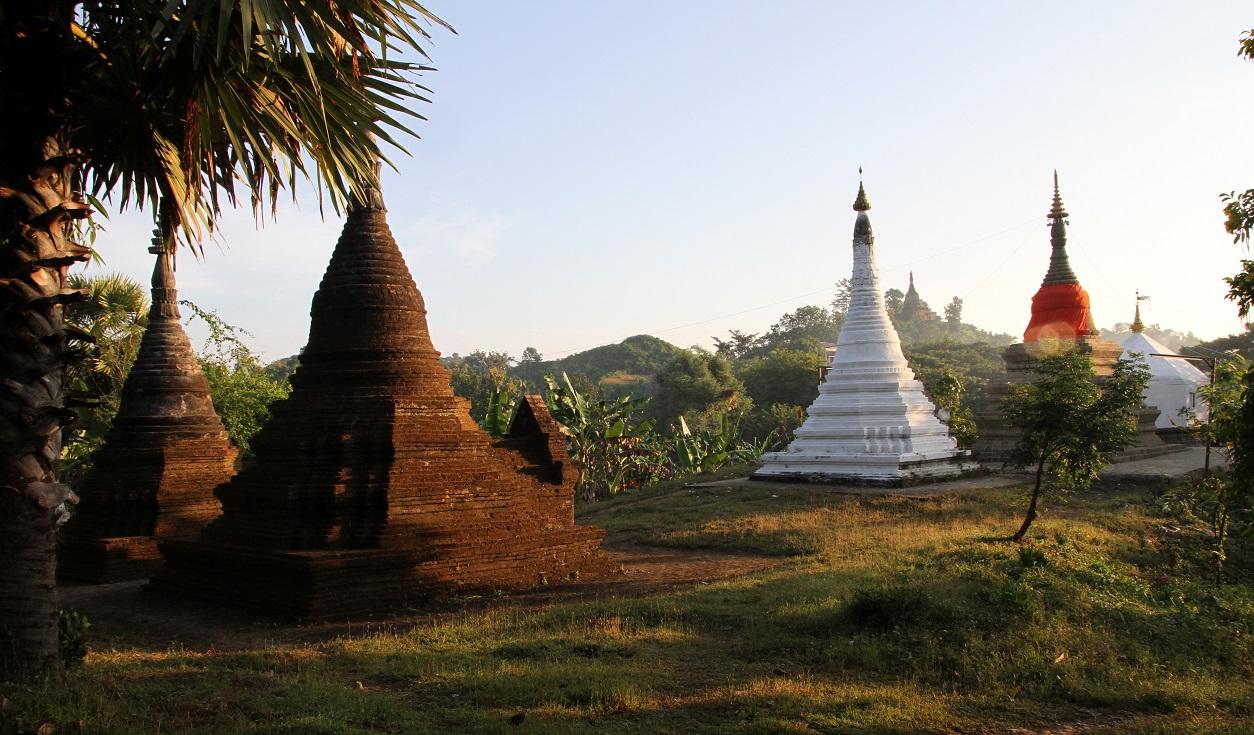 Filming in Myanmar - Mrauk U